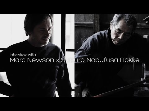 aikuchi - Interview with Marc Newson and Sword master Saburo
