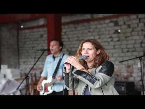 Mary McBride Band in Tirana
