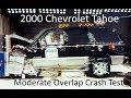 2000 2006 Chevrolet Tahoe / Gmc Yukon Nhtsa Moderate Overlap Crash Test (37.5 Mph)