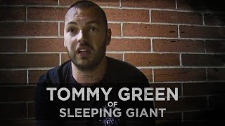 The Purpose of Pain and Identity Struggles -- Tommy Green of Sleeping Giant
