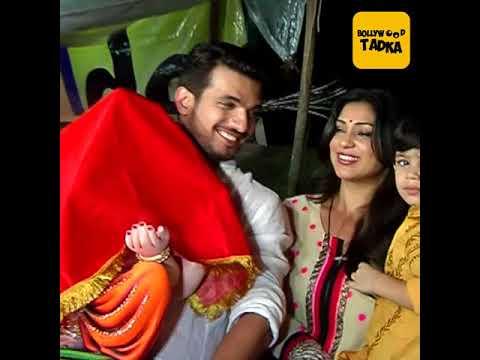 Arjun Bijlani welcomes Lord Ganesha with his son and wife