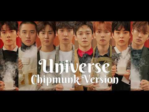 EXO - Universe [Chipmunk Version]