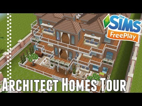 Sims Freeplay | Architect Homes | March 2018