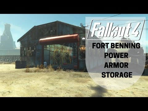 Fallout 4: Fort Benning: Power Armor Storage