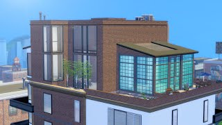 Building an Industrial Penthouse in The Sims 4 (Streamed 4/6/19)