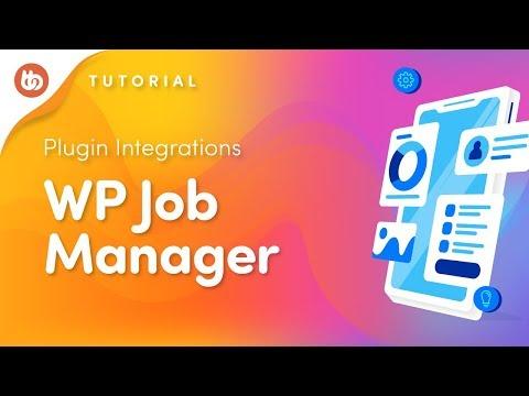 WP Job Manager | BuddyBoss Plugin Integrations