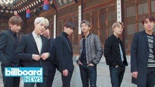 BTS: K-Pop Stars Cover Billboard Magazine With 8 Different Versions | Billboard News