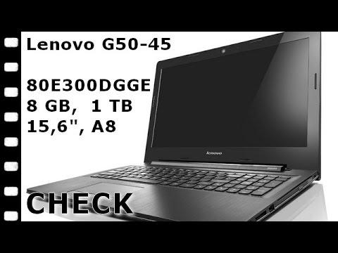 imaKo: Lenovo G50-45 A8 80E300 Notebook 15,6