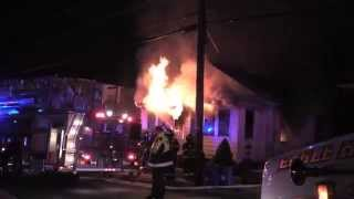 Little Falls NJ Fire Department Fatal Fire on Lower Notch Rd May 5th 2015