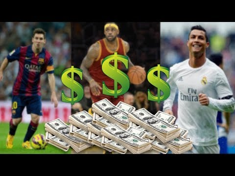 TOP 4 HIGHEST PAID ATHLETES FLOYD MAYWEATHER CHRISTIANO RONALDO AND (MORE)
