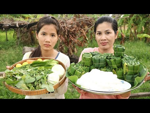 Awesome Cooking Vegetable W/ Traditional Noodle Delicious -Cook Fish Recipes –  Village Food Factory