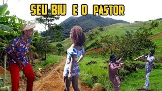 Seu Biu e o Pastor - Tava no Culto Orando