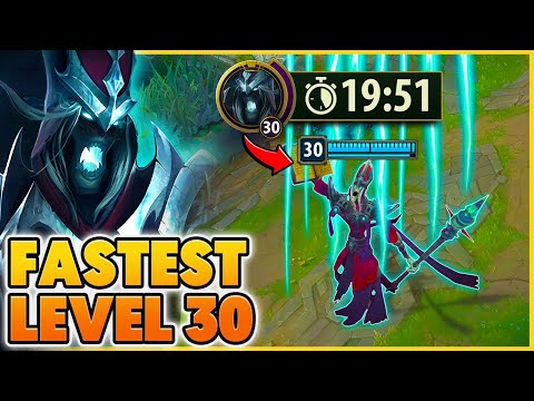 I Get Level 30 before 20 minutes... (Record)