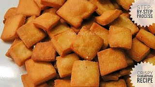 Crispy Shakarpara Recipe/ Diwali Special Snacks - How to make Shakarpara Step by Step method