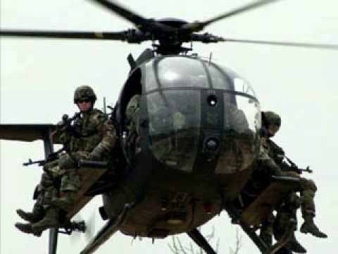 Us Special Forces Mh 6 Helicopter Night Stalk Youtube