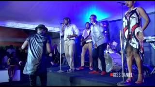 Kiss Daniel (Official Video) Good Time With Live Band 2016