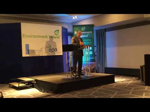 Minister Naughten at Environment Ireland Conference