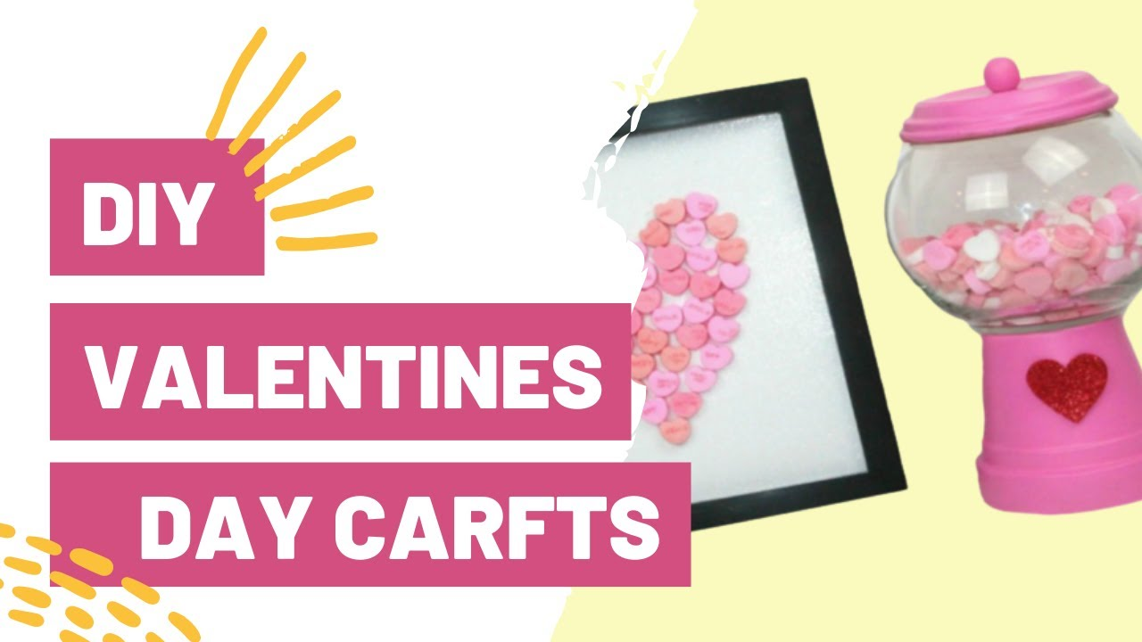 Diy Valentines Day Crafts Youtube