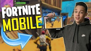 FAST MOBILE BUILDER on iOS / 700+ Wins / Fortnite Mobile + Tips & Tricks!