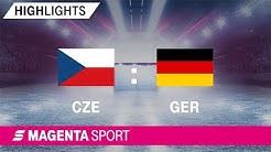 Tschechien - Deutschland | Euro Hockey Challenge 2019 | MAGENTA SPORT