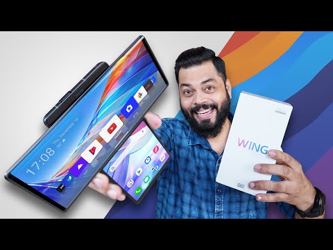 LG Wing Unboxing And First Impressions ⚡ The Craziest Swivel Phone We Ever Unboxed