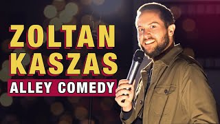 Zoltan Kaszas - Stand Up Comedy In An Alley