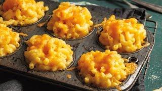 Mac 'n Cheese Muffins | 2015 Milk Calendar