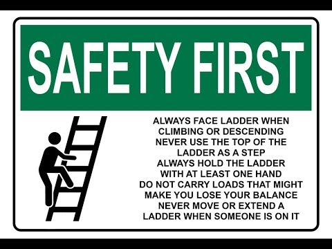 Ladder Safety Hindi Hd Class Room Safety Training
