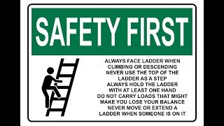 Ladder Safety (Hindi) HD | Class Room Safety Training | Team OHSE