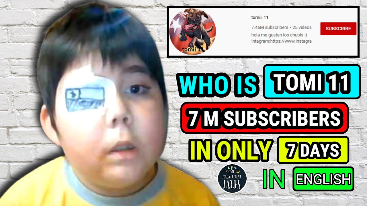 Who Is Tomi 11 Details Of Tomi 11 Who Is Tomi 11 English Youtube