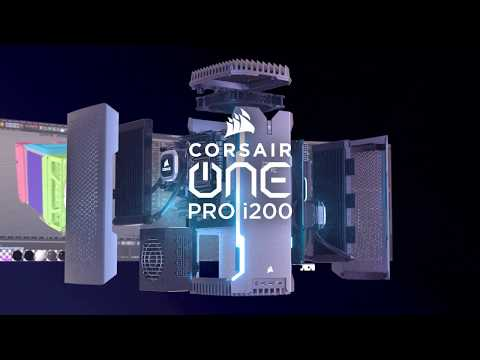 CORSAIR ONE PRO i200 Compact Workstation-Class PC - Create Something Amazing from YouTube · Duration:  34 seconds