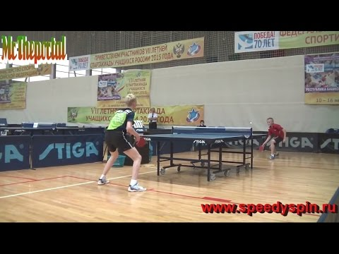 """Table Tennis - """"Russian New Generation"""" -  (Part 2)"""