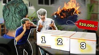 กล้าเปิดไหม! เกมส์กล่องปริศนาและบทลงโทษที่โครตโหด