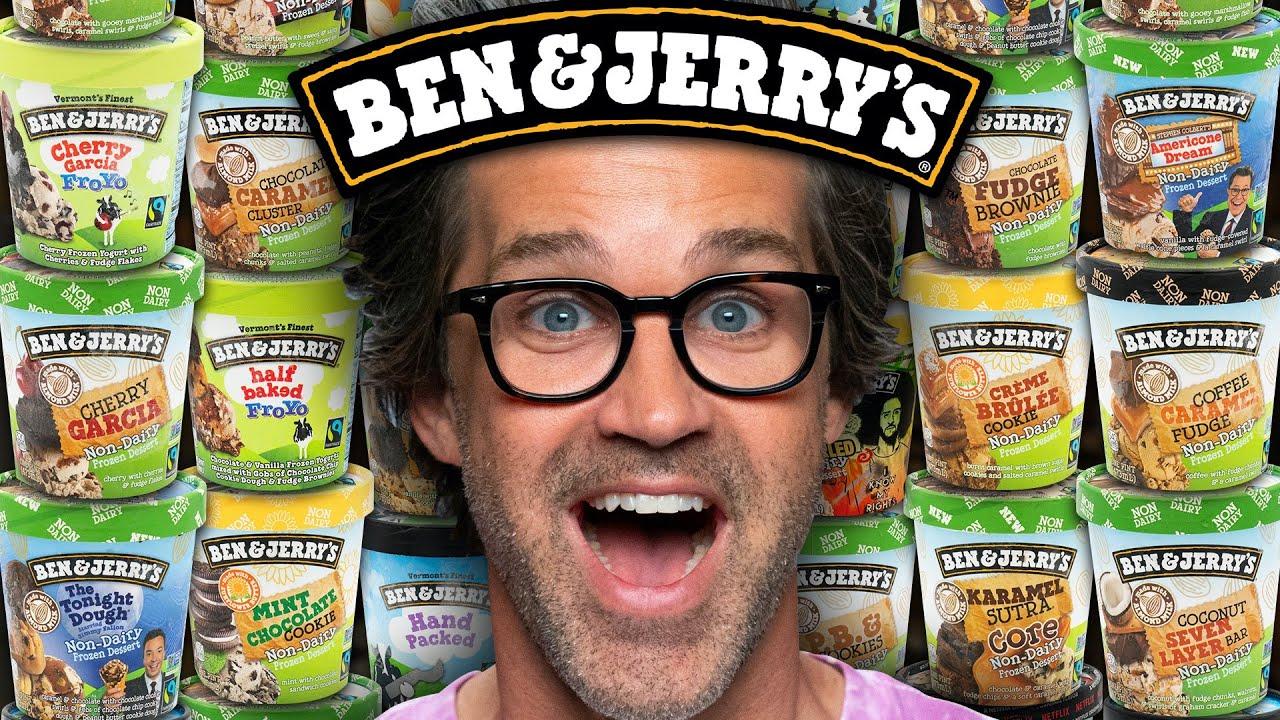 We Tried EVERY Ben & Jerry's Ice Cream Flavor