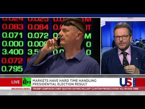 Brexit deja vu?: Markets having hard time handling US election result