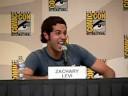 Zach Levi imitates Yvonne Strahovski's accent