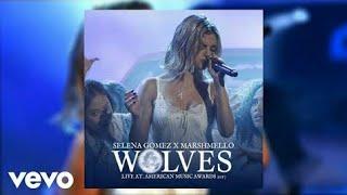 Selena gomez, marshmello - wolves (live ...