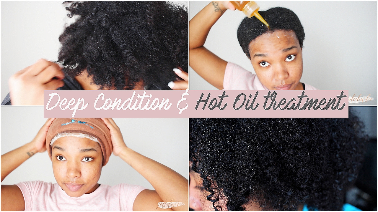 Deep Conditioning Hot Oil Treatment Natural Hair
