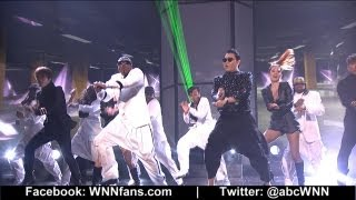 American Music Awards 2012: Full Recap of Justin Bieber's Win; Psy, MC Hammer's 'Gangnam Style'