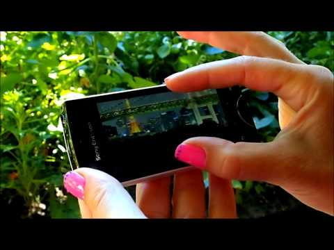 Sony Ericsson Xperia ray - short walk-through