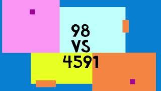 98 vs 4591