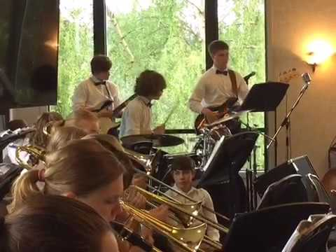 Langley middle school jazz band