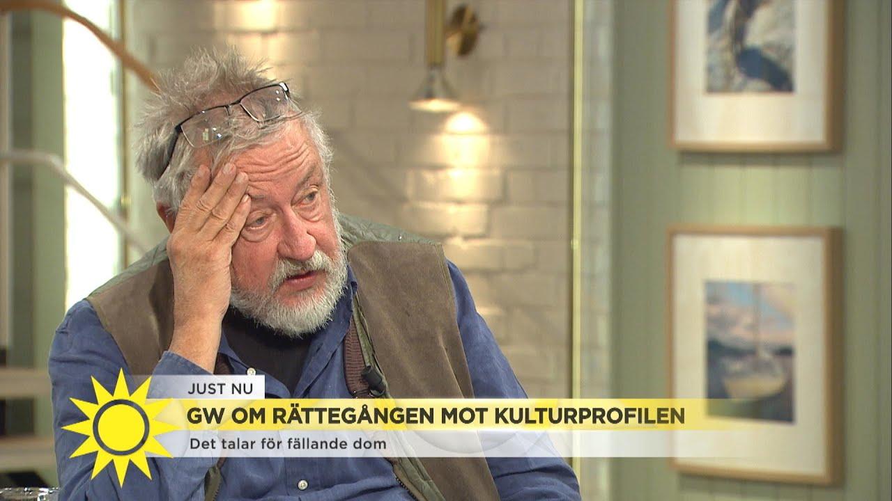 """GW om rättegången mot kulturprofilen: """"Jag tror inte på fällande dom"""" - Nyhetsmorgon (TV4)"""