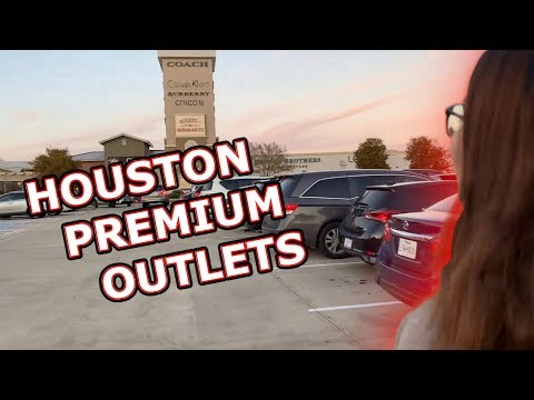 Houston Premium Outlets! Happy Thanksgiving 2018 (Part 2)