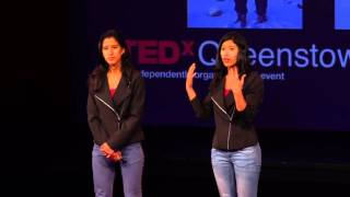 Twinship in the mountains: When duality is the best synergy | Tashi & Nungshi Malik | TEDxQueenstown