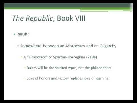 Plato's Republic, Book 8