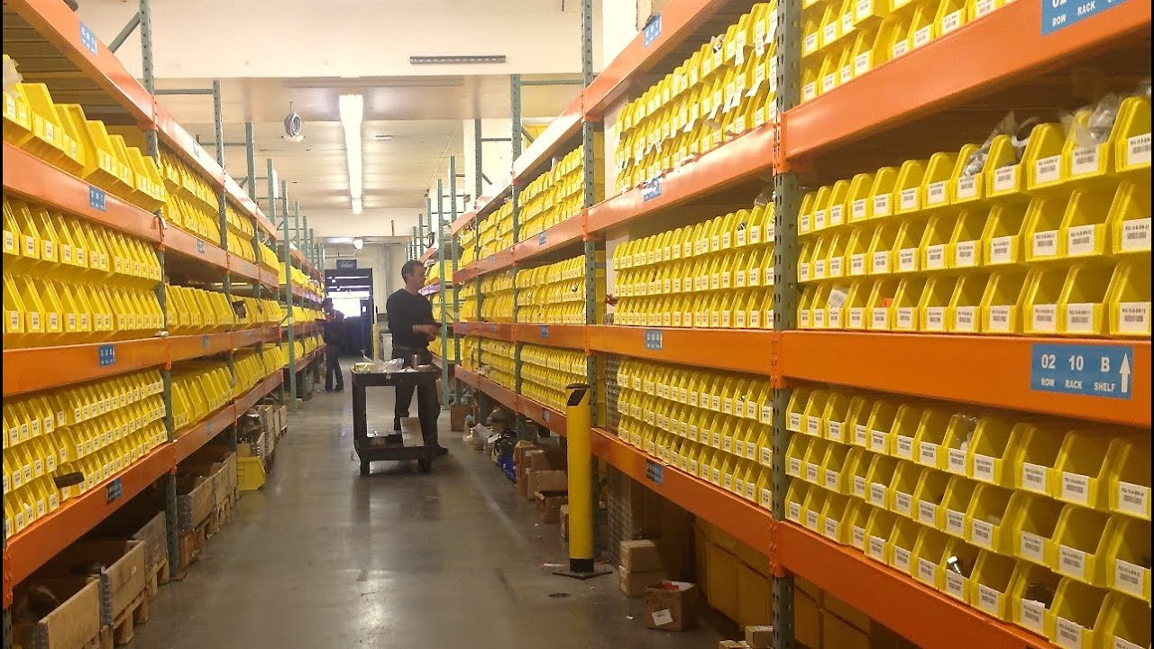Van Dyk Warehouse Tour And Order Fulfillment Process Youtube