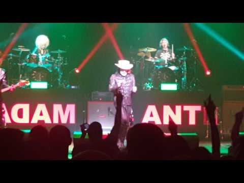 Adam Ant @ Edinburgh Playhouse  - Ant Music 6th May 2017
