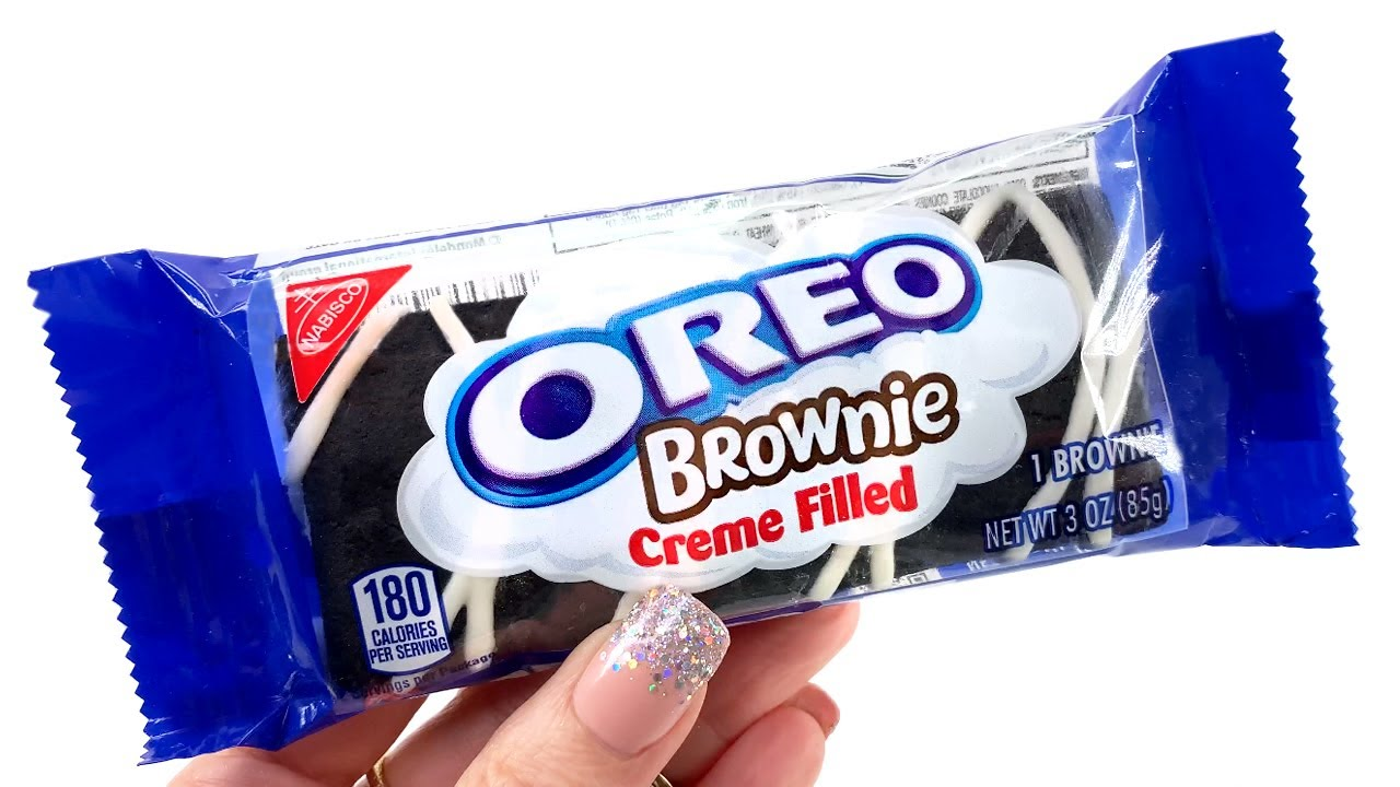 OREO BROWNIE - Unwrapping