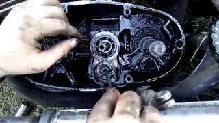 Ремонт от Димана #1 Восход3м замена стопорного кольца на первичном вале